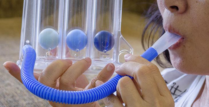 triballs incentive spirometer exerciser