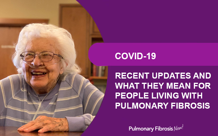 COVID-19 and People Living with Pulmonary Fibrosis