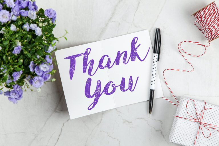 10 Ways to Thank Your Caregiver